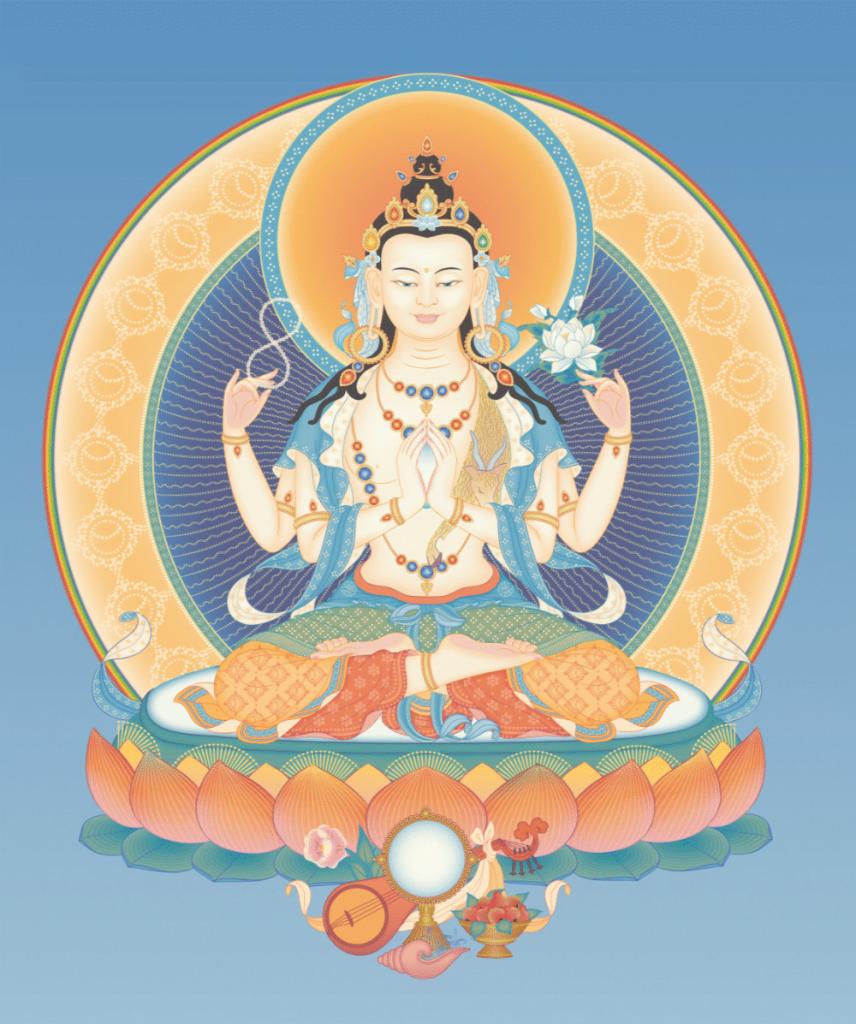 Avalokiteshvara-4-armed