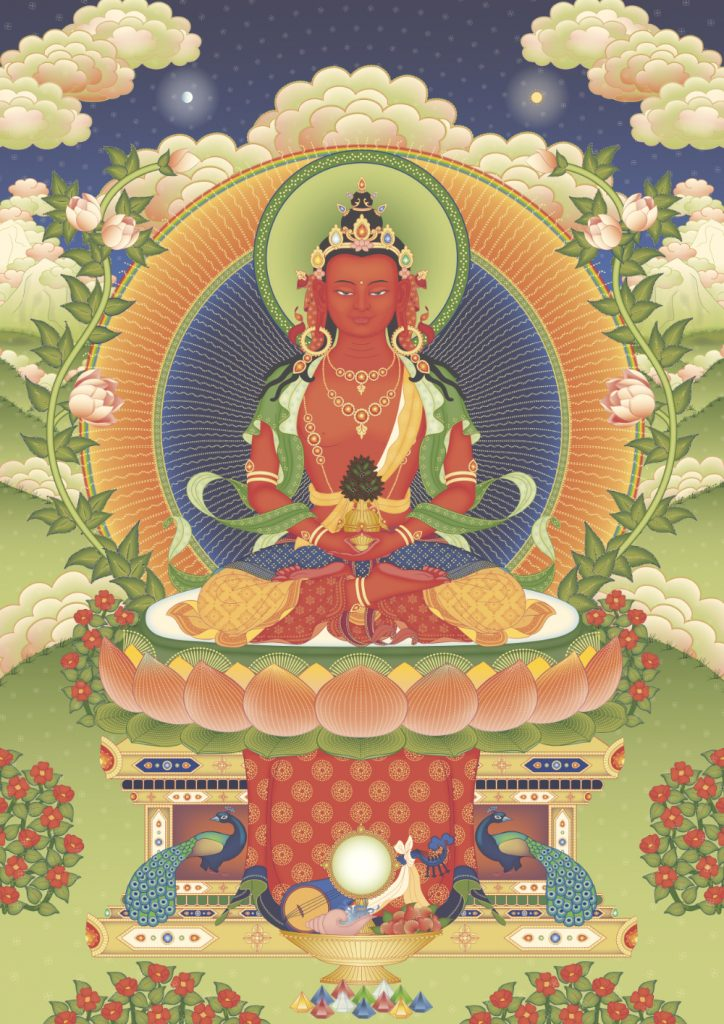 Amitayus - Tharpa Artwork